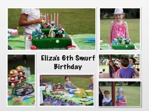 Eliza's 6th Smurf Party